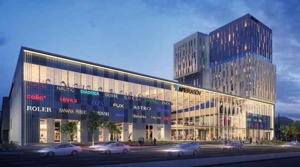 AFI Europe a pus piatra de temelie a celui de-al treilea centru comercial în România