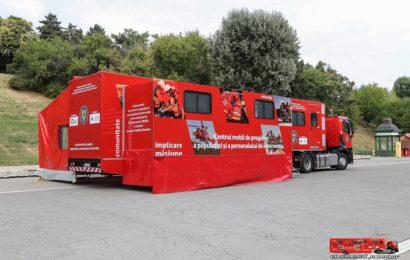 """Caravana SMURD """"Fii pregătit"""" a ajuns în 60 de localități din țară"""