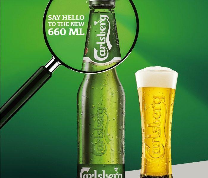 Carlsberg lansează în România o nouă sticlă de 660 ml cu capac filetat