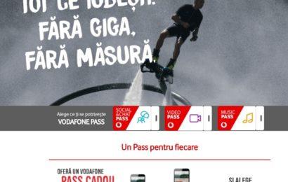 Abonații Vodafone România au acces la aplicații fără a consuma traficul din abonament