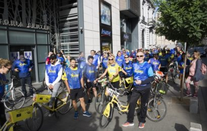 Parteneri Amway au participat la XS Sports Nutrition Bike Tour Bucharest