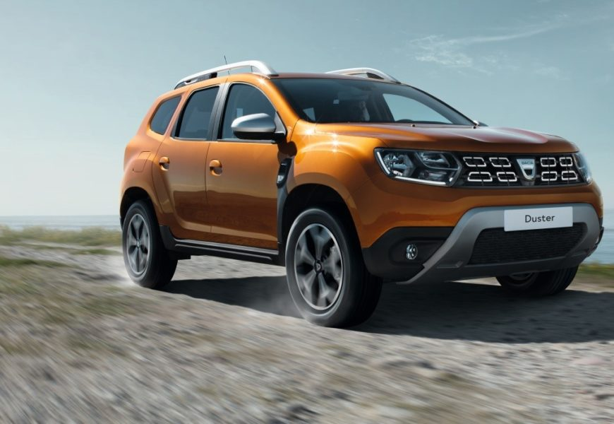 Dacia a lansat la Frankfurt noul Duster
