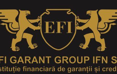 EFI Garant Group, prima IFN avand ca principala activitate emiterea de garantii