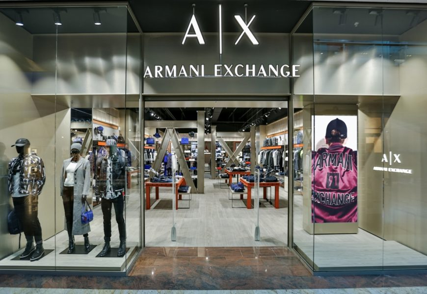 Armani deschide un magazin la parterul centrului comercial Băneasa Shopping City