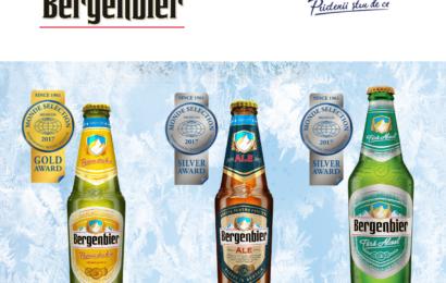 Bergenbier : Trei medalii Monde Selection pentru calitatea berii