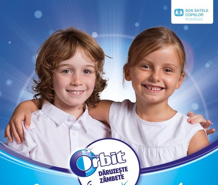 """Orbit lansează a treia ediţie a campaniei """"Orbit dăruiește zâmbete"""""""