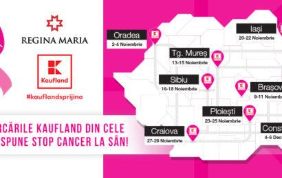 AVON si Kaufland sustin o campanie nationala de testari gratuite pentru depistarea cancerului la san