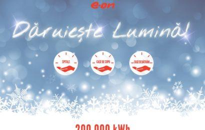 E.ON Energie Romania doneaza gaz si electricitate catre 14 institutii sociale