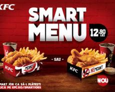 KFC relansează Smart Menu în restaurantele din toată ţara