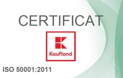 Kaufland Romania a obtinut certificare energetica pentru intreaga retea de magazine