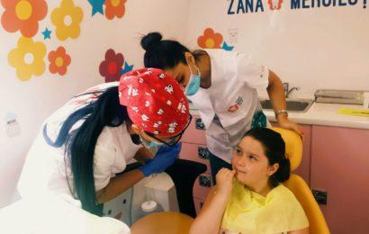 Zana Merciluta acorda consultatii stomatologice gratuite copiilor