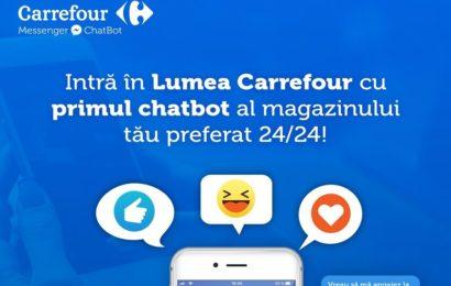 Carrefour a lansat primul ChatBot din zona de retail, disponibil non-stop