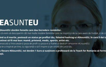BCR doneaza 1 euro catre Teach for Romania, pentru fiecare hashtag #EAsuntEU