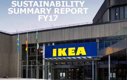 IKEA Group lansează Sustainability Summary Report pentru anul financiar 2017