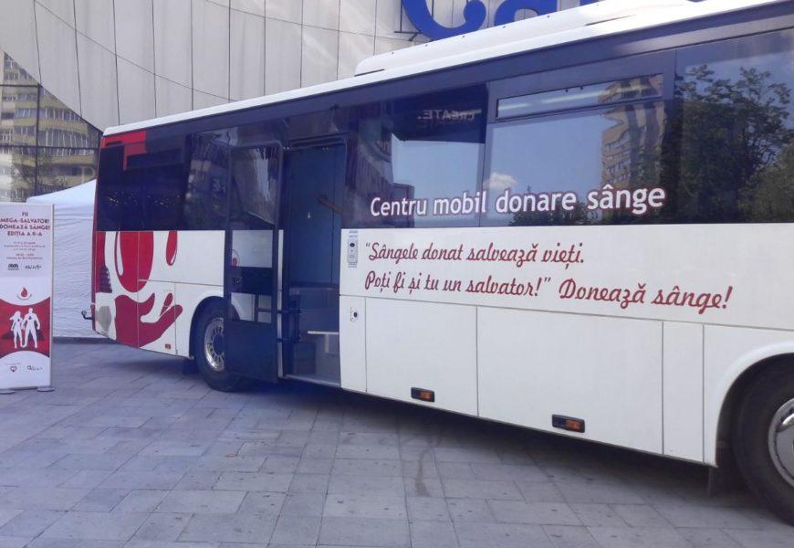Peste 240 de vieți salvate datorită bucureștenilor care au donat sânge la Mega Mall Bucuresti