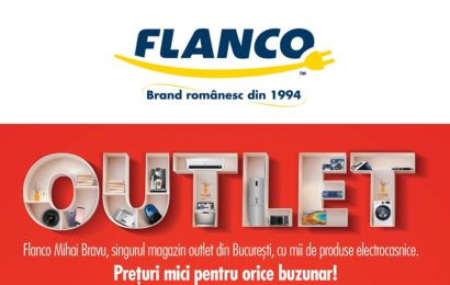 Premieră: Flanco a deschis primul outlet electro-IT, în Bucureşti