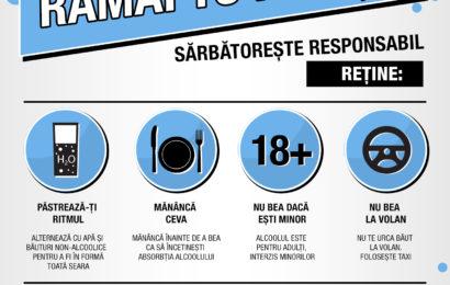 Diageo si PPD Romania, cu sustinerea Mega Image, dau startul unei campanii de infomare cu privire la consumul responsabil de alcool