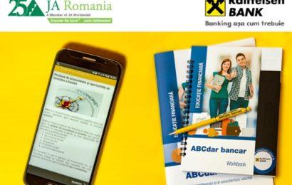 Raiffeisen Bank și JA România au digitalizat programul ABCdar bancar