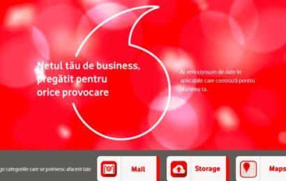 Vodafone România oferă companiilor acces la cele mai folosite aplicații de business