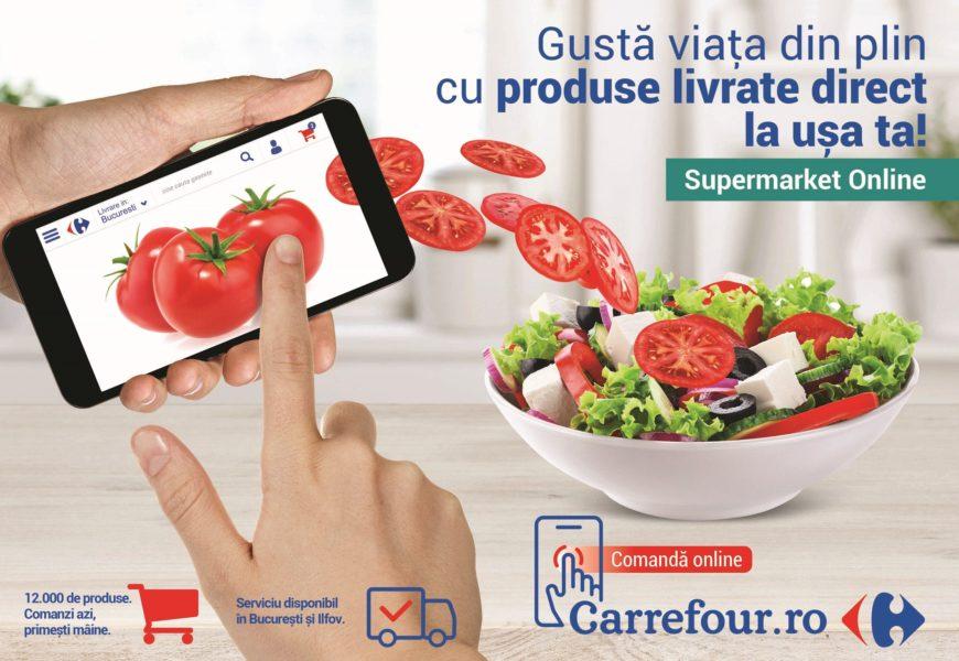Carrefour România a lansat portalul unic carrefour.ro