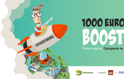 Antreprenorii primesc 1.000 € pentru a iniţia o campanie de crowdfunding