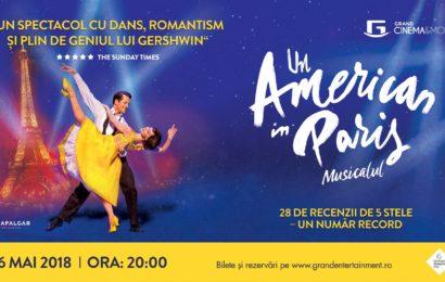 Un American în Paris – un musical internațional transmis de pe West End la Grand Cinema & More