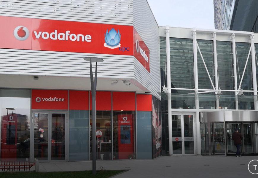 Vodafone cumpără UPC România