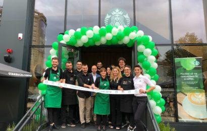 Starbucks a deschis prima cafenea din Pitești