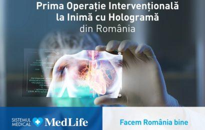 MedLife a transmis în direct o operație la inimă prin hologramă