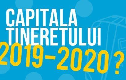 """Care sunt orașele înscrise pentru """"Capitala Tineretului din România"""""""