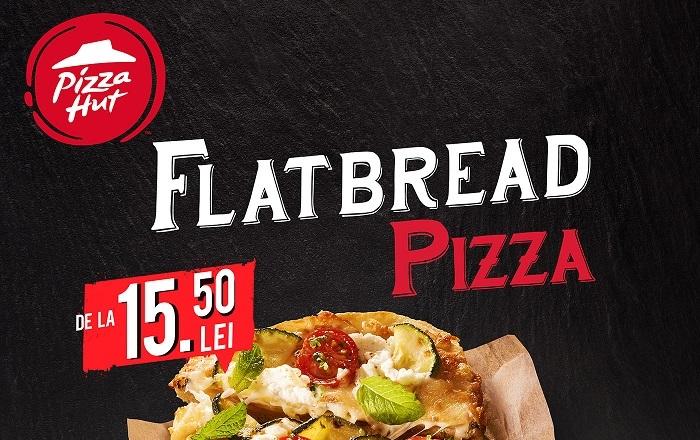Gama Flatbread de la Pizza Hut aduce noi rețete de vară
