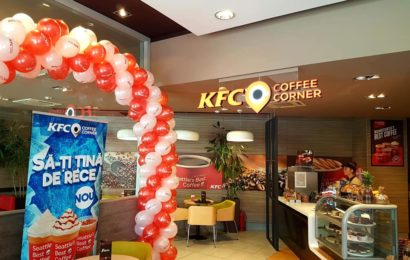 KFC deschide al doilea Coffee Corner din București