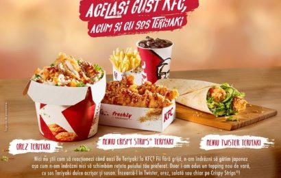 KFC România introduce puiul cu sos Teriyaki