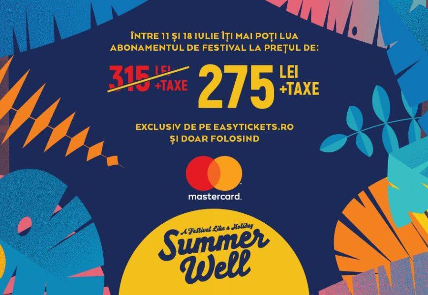 Experiențe de neprețuit la Summer Well, alături de Mastercard