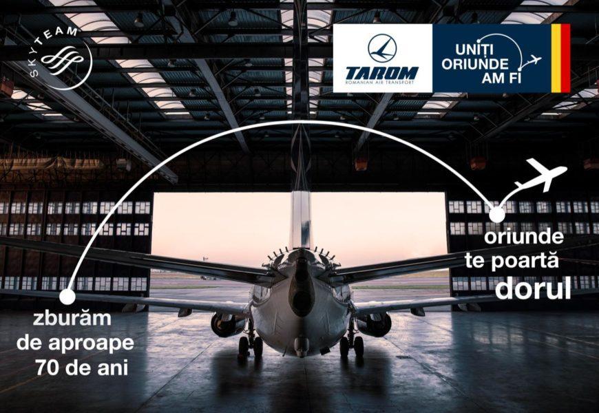 """TAROM lansează campania """"Oriunde te poartă dorul"""""""
