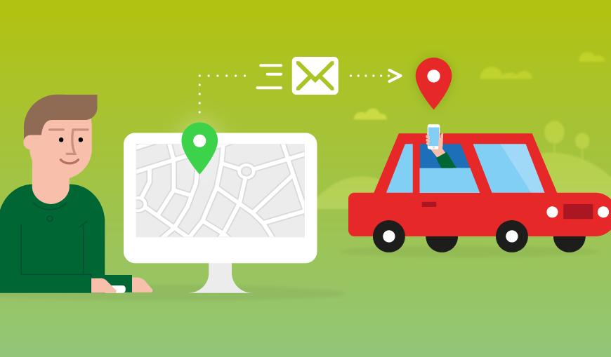 Cu Sygic îți poți planifica traseul pe net și apoi să-l trimiți pe GPS