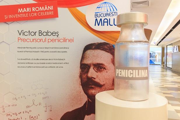 Expoziție inedită la București Mall: Românii care au schimbat lumea