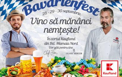 Bavarienfest – petrecere în stil nemțesc cu chefi de top la Kaufland Mamaia Nord