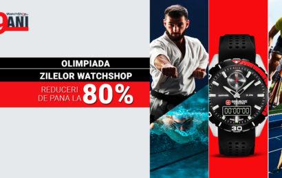 WatchShop.ro – nouă ani pe piață cu reduceri de până la 80%