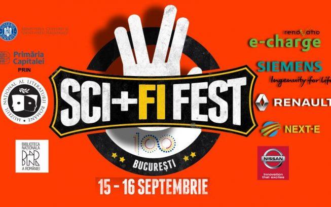 Weekend plin la Sci+Fi FEST 2018, la Biblioteca Națională