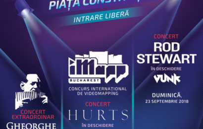 Gheorghe Zamfir, Hurts și Rod Stewart vor concerta la Zilele Bucureștiului