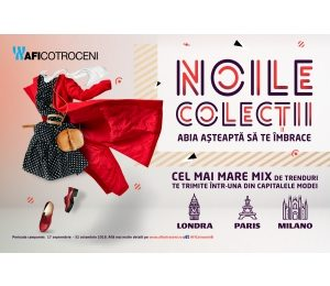 Descoperă noile colecții din AFI Cotroceni care te pot trimite într-una din capitalele modei