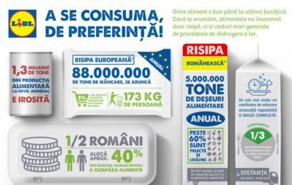 LIDL a fondat a doua banca de alimente din Romania