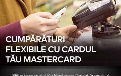 Mastercard și Carrefour România au lansat Serviciul Plata în Rate