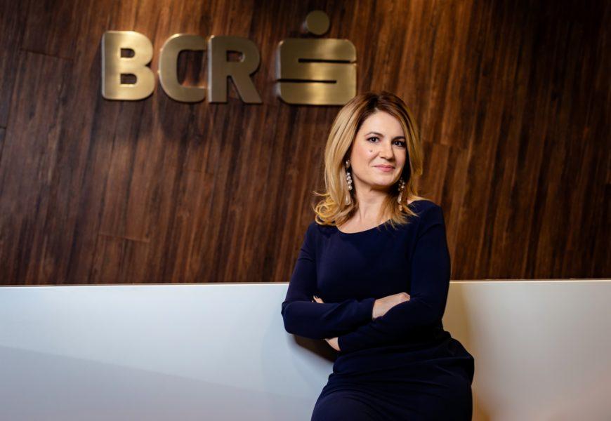 BCR: Anca Petcu a preluat functia de Chief Transformation Office