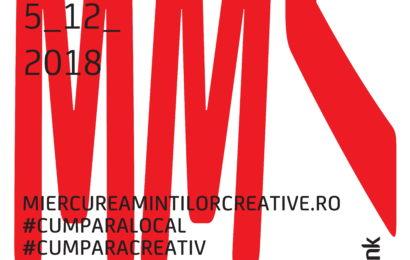 5 decembrie: Miercurea Minților Creative – festival de shopping dedicat afacerilor creative