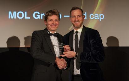 Grupul MOL a fost premiat la Premiile Petroleum Economist 2018
