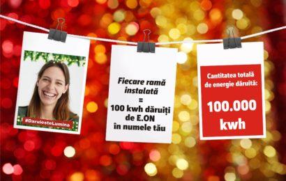 E.ON a dat startul unei noi editii a campaniei #DaruiesteLumina