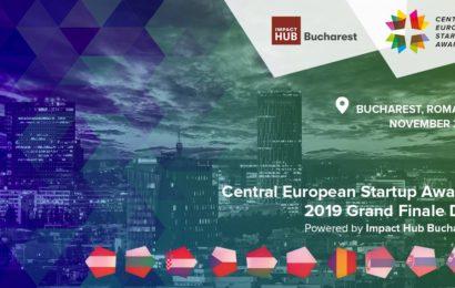 Impact Hub va organiza Finala Regională a Central European Startup Awards 2019