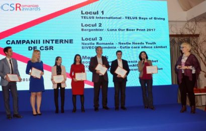 Numar record de proiecte inscrise in competitia Romanian CSR Awards 2019